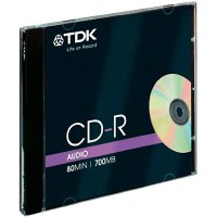 TDK CD-R80 700MB AUDIO 10 ks JEWELCASE