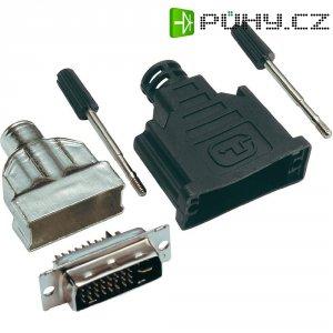 DVI konektor BKL Electronic 908002, 24+5, 29 pól.