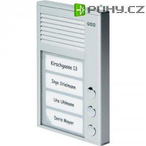 Domácí telefon Auerswald TFS-Dialog 103, 90619, 3 rodiny, stříbrná