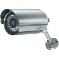 Barevná monitorovací kamera sygonix IR 43199R, LAN, 1600 x 1200 px