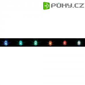LED 3 mm DVOUBAR. (1259-7SURSYGC/S530-A3)