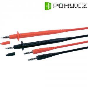 Sada měřicích kabelů banánek 4 mm ⇔ měřící hrot MultiContact MC-1, 1 m, černá/červená