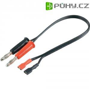 Napájecí kabel pro olověné akumulátory Modelcraft, 250 mm, 1,5 mm²