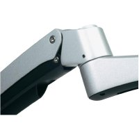 """Držák monitoru Silverstone SST-ARM22SC, 25,4 - 61 cm (10\"""" - 24\""""), stříbrný"""