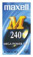 Videokazeta VHS MAXELL E-240M