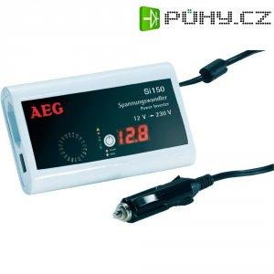 Měnič napětí DC/AC do auta AEGSi 150, 12V/230V, 150 W