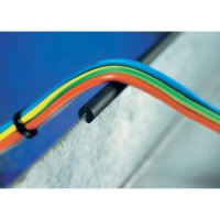 Chránič hran HellermannTyton RA1-PVC-BK-75M, PVC, černá, metrové zboží