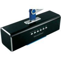 Mobilní sound stanice s displejem Technaxx MusicMan ® MA, černá