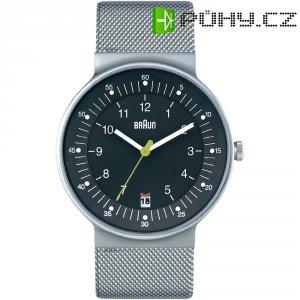 Ručičkové náramkové hodinky Braun 66520, pánské, pásek z nerezové oceli