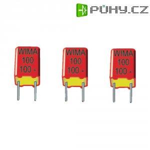 Foliový kondenzátor FKP Wima, 330 pF, 630 V, 20 %, 7,2 x 4,5 x 6 mm