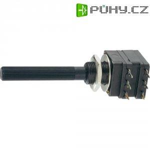 Stereo potenciometr Piher, PC16DH-10IP06224A2020MTA, 220 kΩ, 0,2 W , ± 20 %