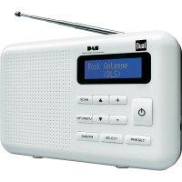 DAB+ rádio Dual DAB 2, FM, bílá/černá