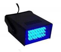 LED stroboskop - modrý