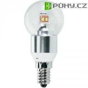LED žárovka Renkforce E14, 3,6 W = 25 W, čirá, teplá bílá