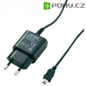 USB nabíječka VOLTCRAFT SPS-1000 MiniUSB, 1000 mA, černá