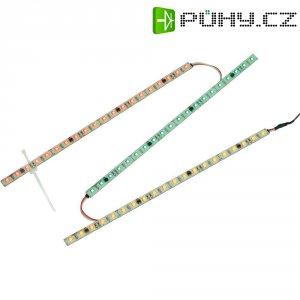 SMD LED PÁSKY S 24 LED, BÍLÉ