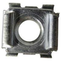 Klecové matice Toolcraft, M4, 1,5 mm, ocel, 10 ks