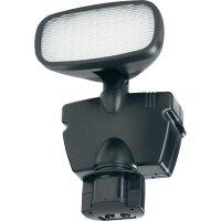 Solární venkovní nástěnné LED svítidlo, s PIR čidlem