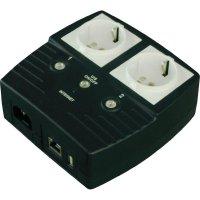 Dvojitá IP zásuvka s ovládáním přes LAN, schuko