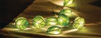Řetěz dekorační 10 LED 1.5m lístky HQLEDSLLEAF
