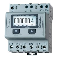 Digitální elektroměr Finder 7E.56.8.400.0000, 32 A MID, na DIN lištu