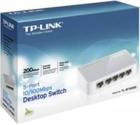 Switch TP Link TL-SF1005D, 5-portový, 10/100Mbps