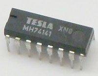 74141 převodník BCD na 1 z 10 pro digitrony, DIL16 /MH74141/