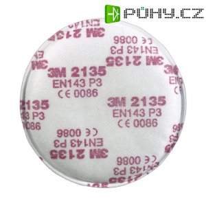 Respirační filtr 3M, EN 143, třída P3, 2135, 10 párů