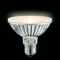 Halogenová žárovka Sygonix, 230 V, 50 W, E27, Ø 50 mm, stmívatelná, teplá bílá, 2 ks