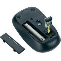 Bezdrátová optická myš, Genius 6000Z, 31030023100, černá