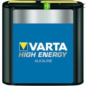 Alkalická baterie Varta High Energy, typ plochá 4,5 V