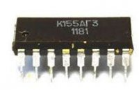 K155AG3 - 2x monost.klopný obvod, DIL16 /74123/