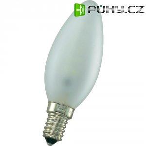 LED žárovka, E14, 3 W, 230 V, 95 mm, teplá bílá