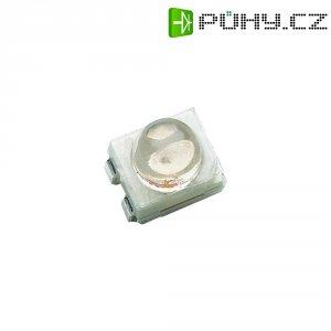 SMD LED PLCC4 Avago Technologies, HSMM-A430-X90M2, 30 mA, 3,9 V, 30 °, 7150 mcd, zelená