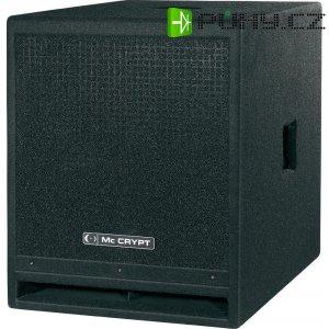Aktivní subwoofer Mc Crypt Pro SUB 15A, 122 dB, 220/550 W