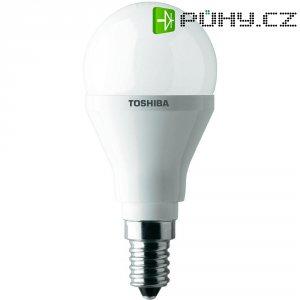 LED žárovka Toshiba Retrofit E6 W teplá bílá matná 20 000 h