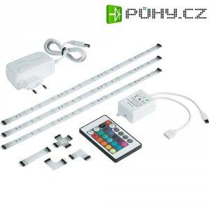 Sada dekoračních LED pásků s příslušenstvím Basetech Flex Strip (5050RGB3SF)