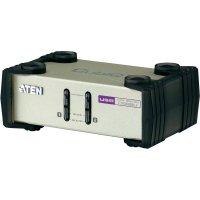 KVM switch Aten pro USB a PS/2 a VGA-Grafik, 2-portový