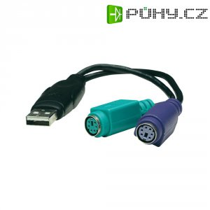 Konvertor MANHATTAN DUAL PS/2, USB