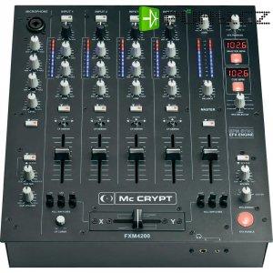 DJ mixážní pult Mc Crypt Premium FXM-4200 USB