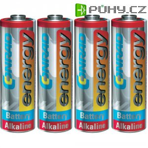Baterie Conrad energy Extreme Power, typ AA, 4 ks
