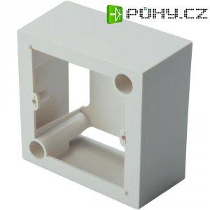 Rámeček pro povrchovou montáž Digitus, DN-93804, 80x80 mm