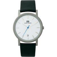 Ručičkové náramkové hodinky Danish Design, 3316262, kožený pásek