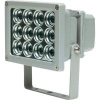 Venkovní LED reflektor AS Schwabe, 12 W, šedá