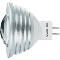 LED žárovka, GU5.3, 3 W, 12 V, 55 mm, studená bílá