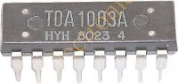 TDA1003A - řízení motoru+oscilátor k mgf. , DIL16