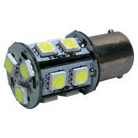 SMD LED žárovka Eufab BA15s, 13529, 3 W, BA15s, bílá