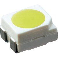 SMD LED PLCC4 OSRAM, LS E6SF-V2BA-1-1, 50 mA, 2,15 V, 120 °, 900 mcd, super červená