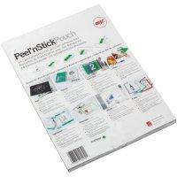 Fóliové kapsy PEEL`NSTICK A4, 125MIC, 100ks