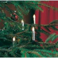 Vnitřní vánoční osvětlení Konstsmide 2316-900, 20 žároviček, stříbrná, do sítě, 7,2 m